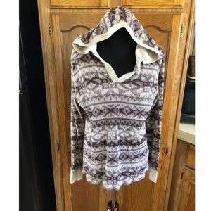 Ralph Lauren Hooded Thermal Top Size XL